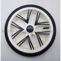 Колесо надувное 10 дюймов Низкопрофильное (48 на 188) тип 24 (Bebetto, Esspero) белое
