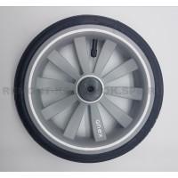 Колесо надувное 10 дюймов низкопрофильное тип 15  (Anex, Noordi) без вилки СЕРОЕ