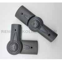 Механизм регулировки ручки тип 7 (овал-овал 42/22-20/30мм) серый