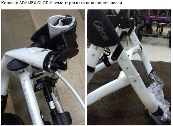 ремонт Adamex Gloria